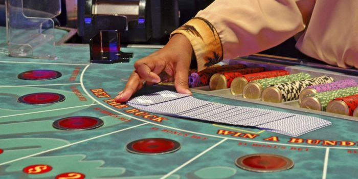 Flamingo Las Vegas Gaming Table Games Baccarat 1