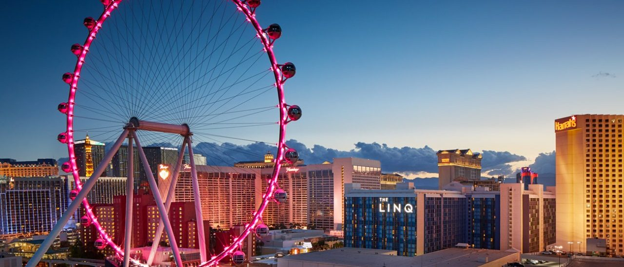 Photo of The High Roller Observation Wheel At The Linq Overlooking The Las Vegas Strip