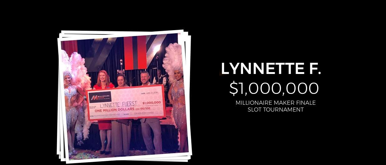 The next millionaire maker sweepstakes