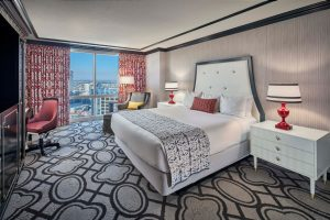 Paris Las Vegas Remodeled Suite Room