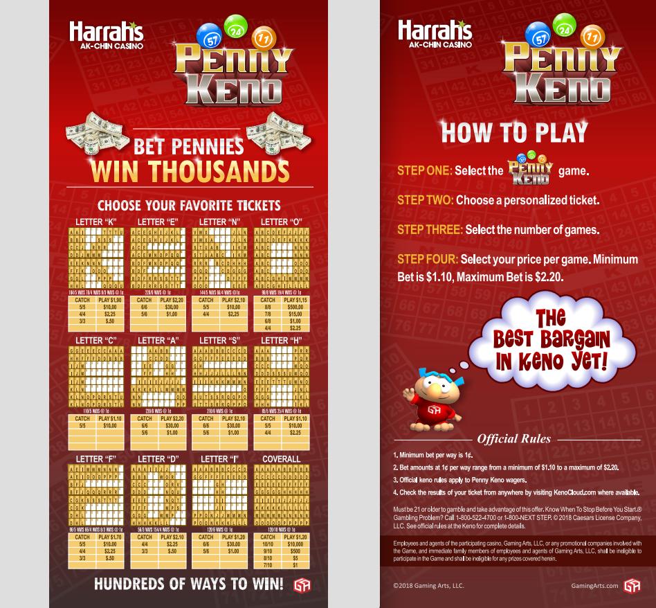 Keno online betting harrahs las vegas binary options system strategy definition