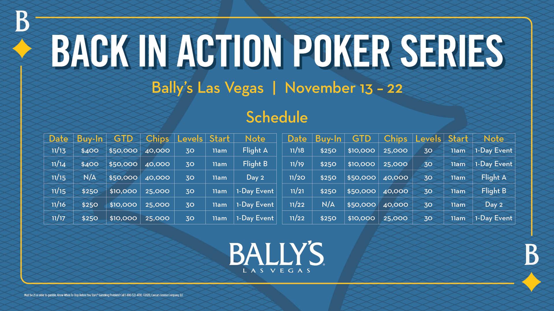 Boulevard casino poker tournament schedule las vegas casinos business