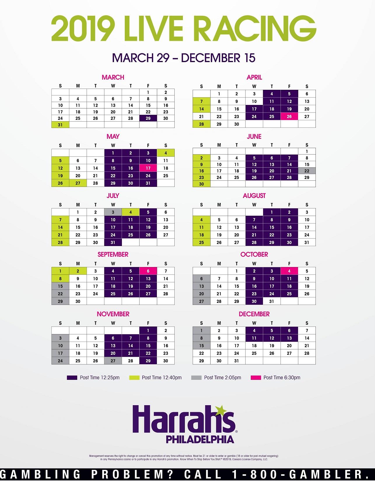 HarrahS Racetrack