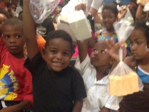 Children at The Bailey Family Center in Boca Chica, DR receiving soap from Caesars Children at The Bailey Family Center in Boca Chica, DR receive soap from Caesars
