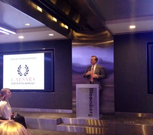 Points of Light Chairman, Neil Bush, congratulating Caesars Entertainment and other Civic 50 companies. Credit: Bea Boccalandro Points of Light Chairman, Neil Bush, congratulating Caesars Entertainment and other Civic 50 companies. Credit: Bea Boccalandro