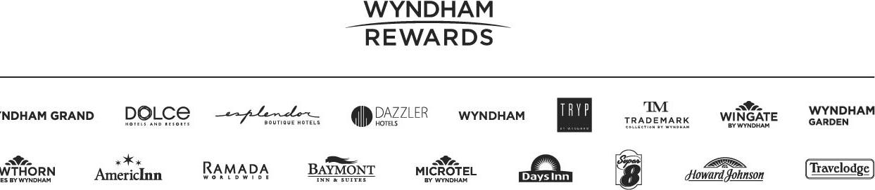 Total Rewards Logo Train Wyndham