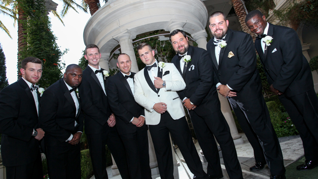 Las Vegas Wedding At Ace Of Hearts Chapel