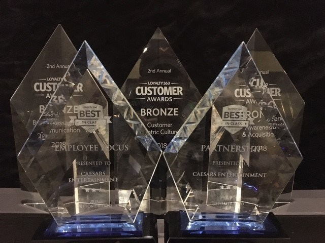 Caesars Entertainment's 2018 Loyalty360 Awards