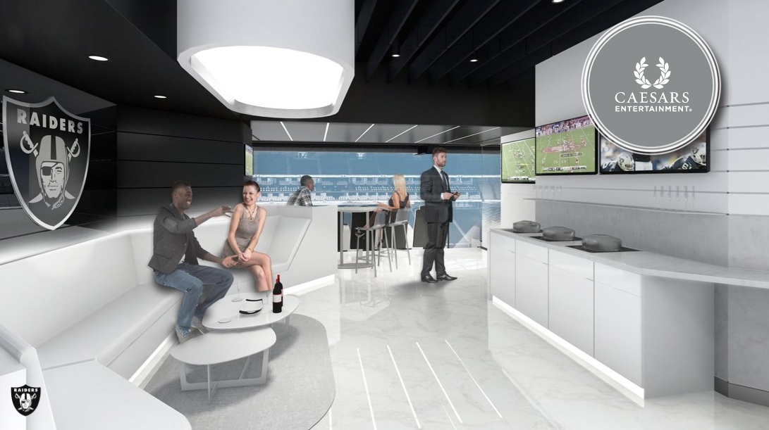 Caesars Entertainment Owners Suite at Las Vegas Stadium