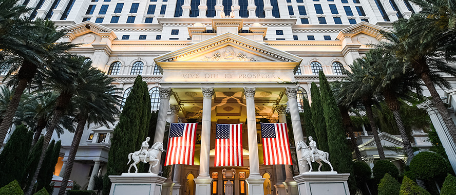 Caesars Entertainment Las Vegas Military Deals