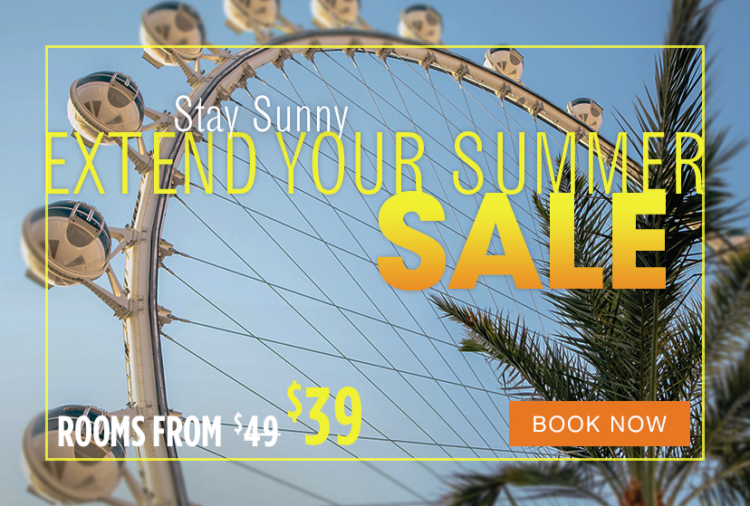 Ballys Las Vegas Extend Your Summer Overlay