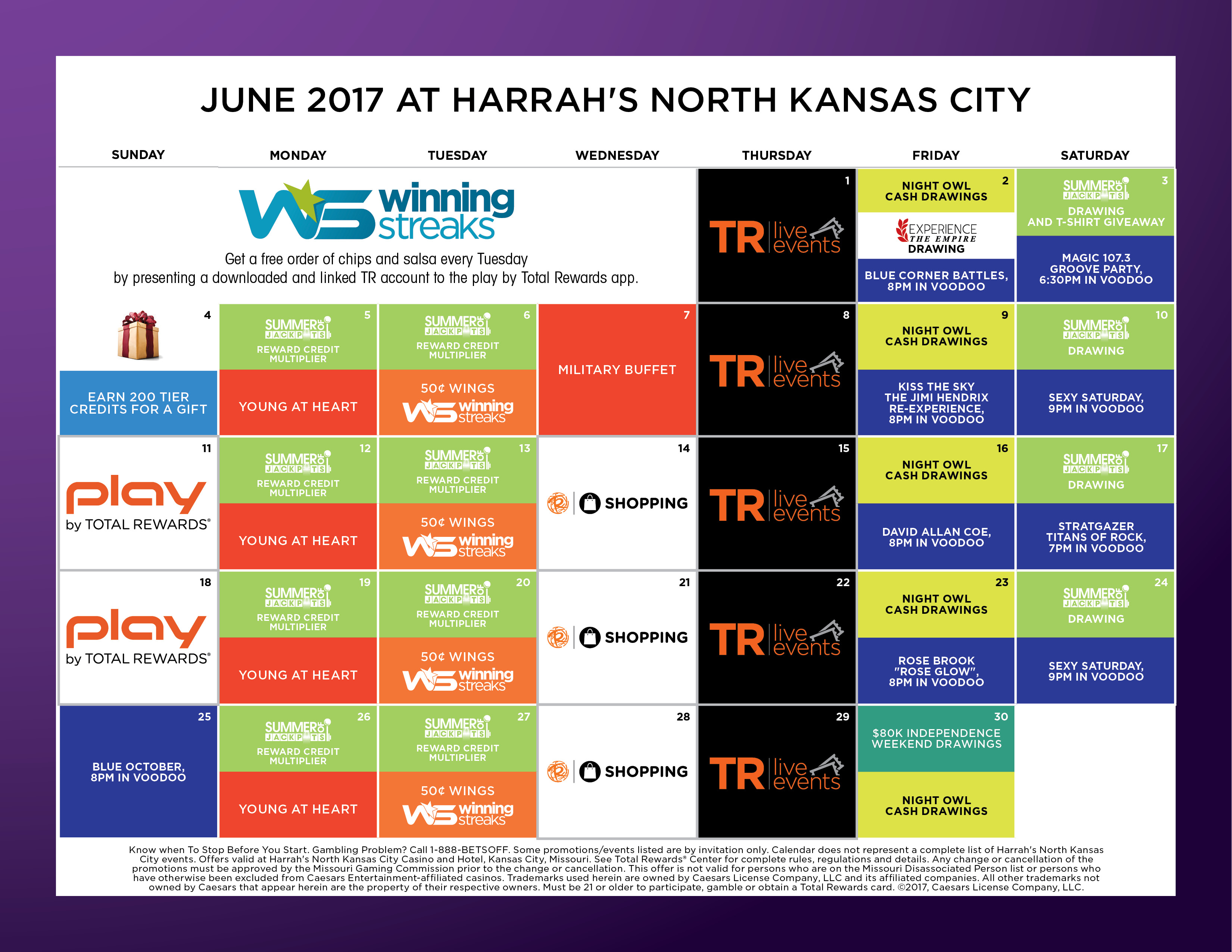 Harrahs kansas city poker tournament schedule