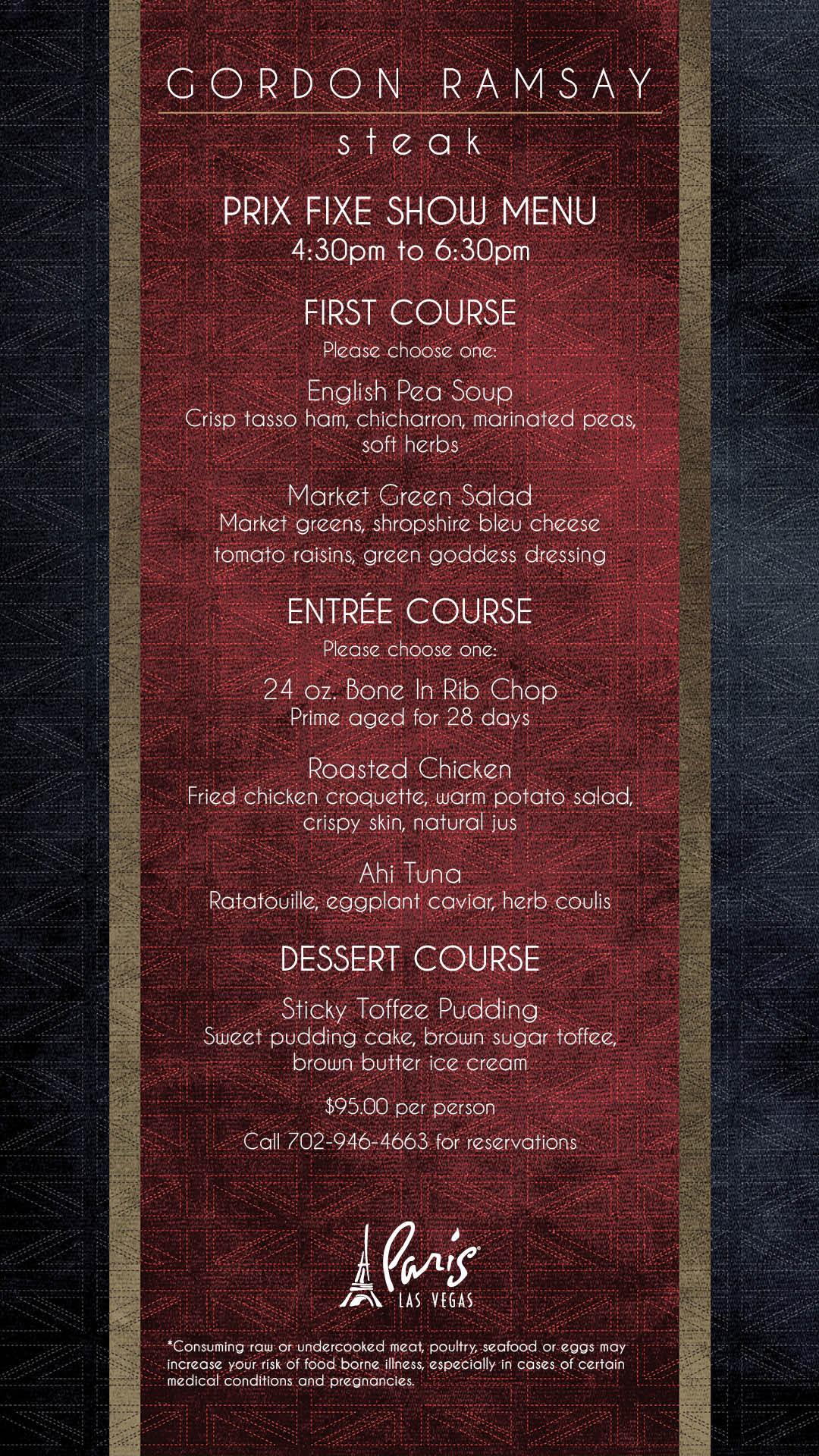 Phenomenal Gordon Ramsay Steak Paris Las Vegas Steakhouse Interior Design Ideas Tzicisoteloinfo