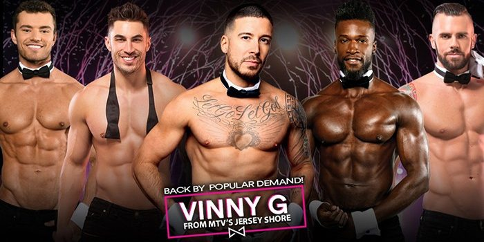 image of chippendales ft tryson beckford at rio las vegas