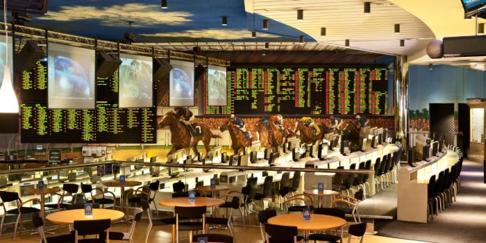 View Inside Bally's Las Vegas Sports Book