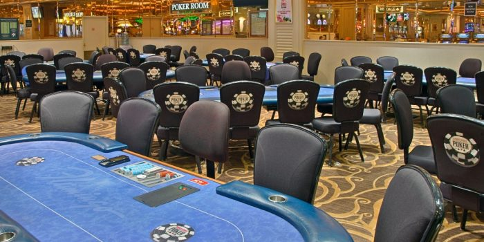 Photo Of Poker Tables And Chairs At The Flamingo Las Vegas