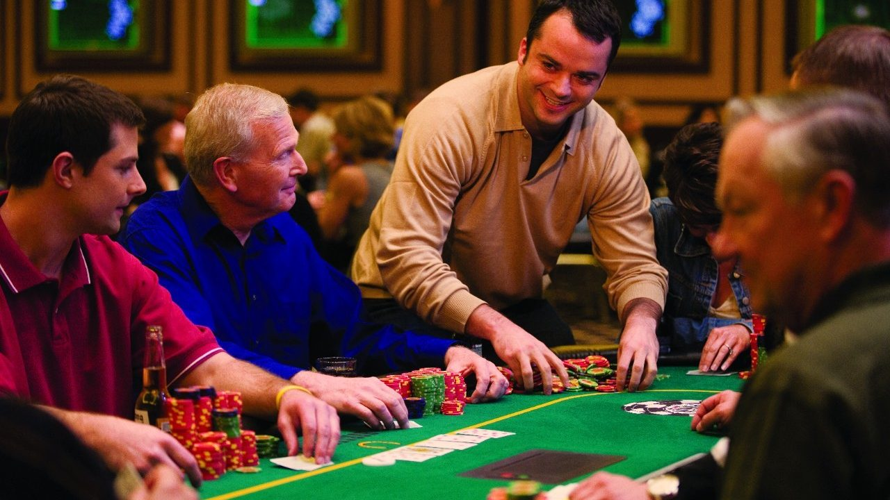 Best poker action in las vegas