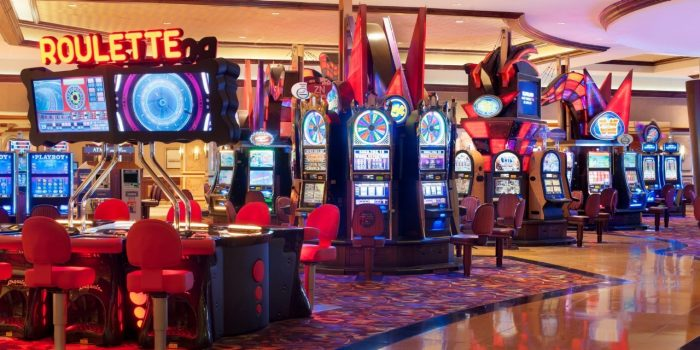 Harrahs Resort Atlantic City Gaming Slots 16