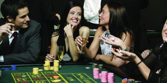 Image Of Guests Playing Roulette Inside Harrah's Atlantic City