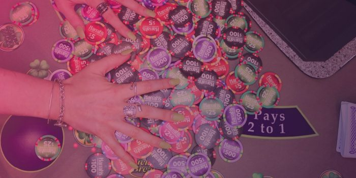 Electronic Craps Table