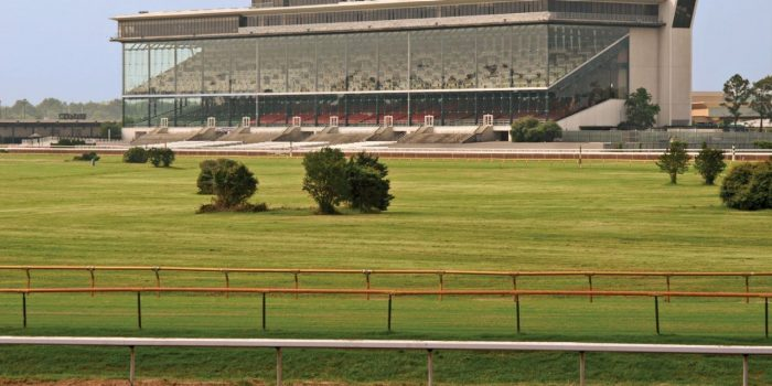 View Of Harrah's Louisiana Downs Racetrack