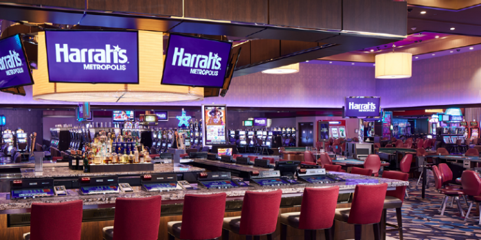 Photo of Gaming Area At Harrah's Metropolis