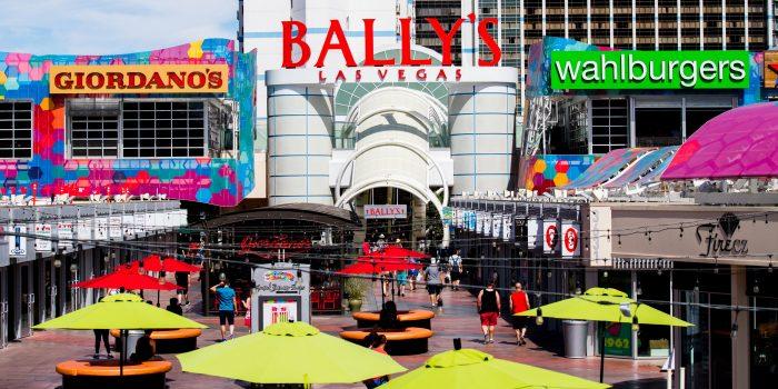 Grand Bazaar Las Vegas Shops Bally S Las Vegas Hotel
