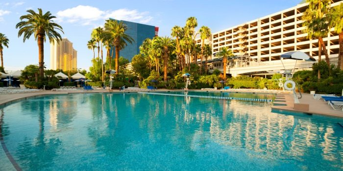 Image Of The Blu Pool at Bally's Las Vegas