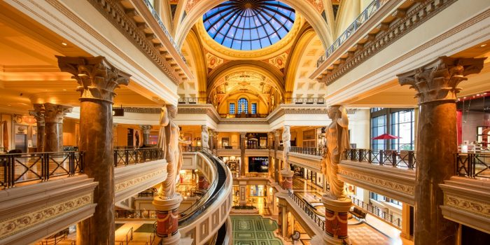 Photo Of Forum S Las Vegas Staircase At Caesars Palace