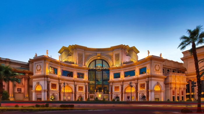 Forum Shops - Caesars Palace on