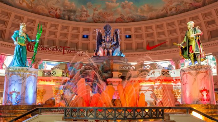 Fall of Atlantis at Caesar's Palace