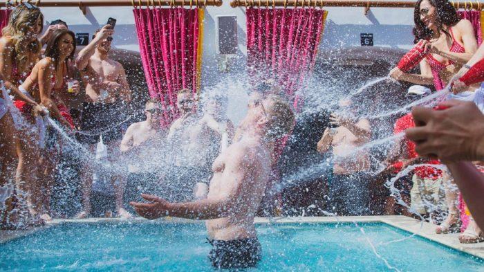 Drai's Beachclub Las Vegas Pool Party - The Cromwell Hotel