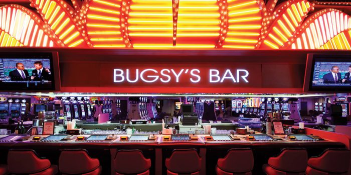 Interior View of Bugsy's Bar at Flamingo Las Vegas