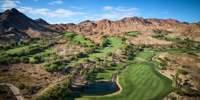 Aerial Image Of Cascata Golf Course In Las Vegas