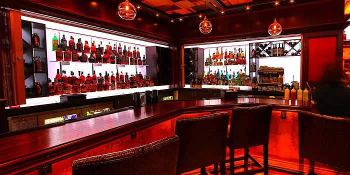 View Of Bar Top At Bar With No Name Inside Harrah's Atlantic City
