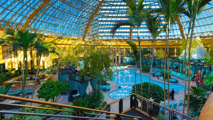 The Pool at Harrah's Atlantic City - Indoor Pool Near Harrah's AC