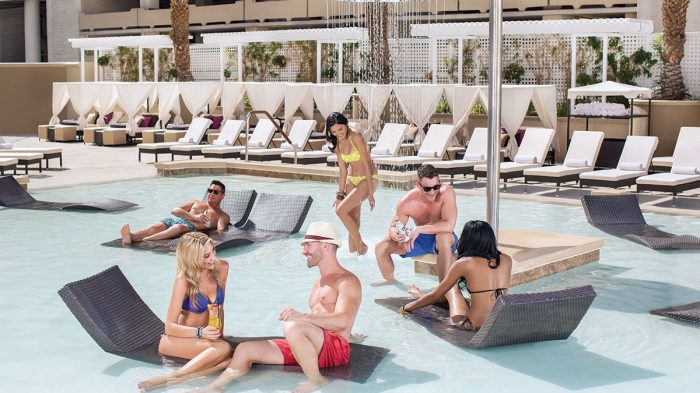 Bask in the Las Vegas sun on our pool lounge chairs