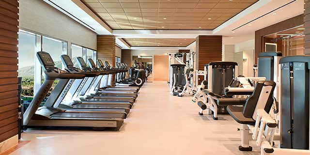 Photo Of Exercise Machines And Equipment Inside The Fitness Center