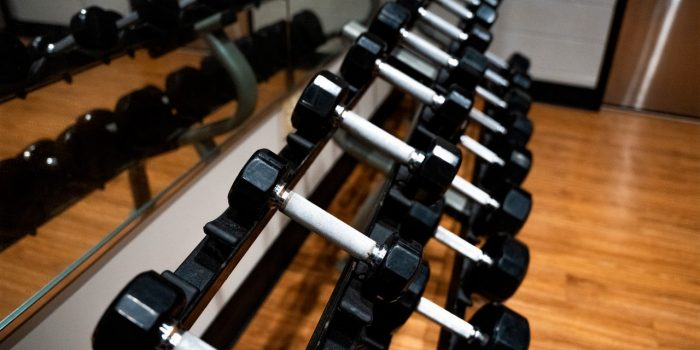 Horseshoe Southern Indiana Fitness Center Showing Cardio Machines And Mounted TV's On The Wall