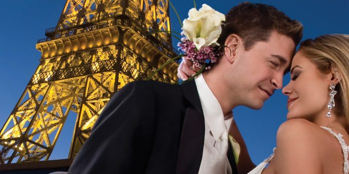 Wedding Photos At Paris Las Vegas