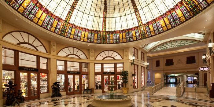 Image Of Hotel Foyer Showing Entrance To LArt De Paris At Las Vegas