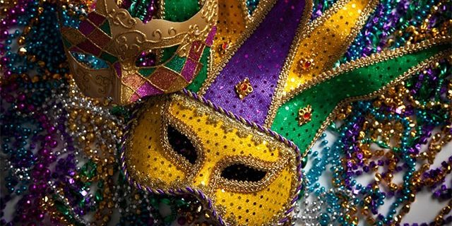 Image Of Masquerade Mask And Beads At Rio Las Vegas