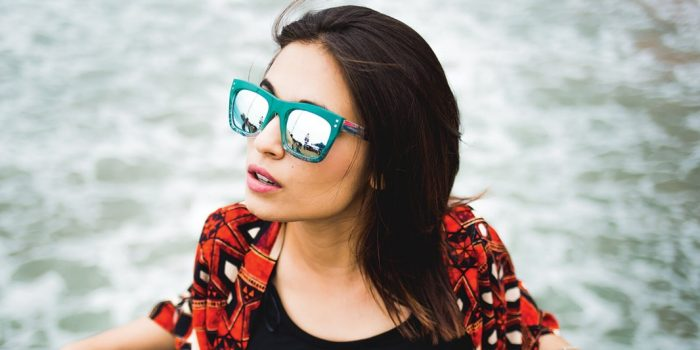 Image Of Woman Wearing Sunglasses From Chilli Beans Eye Wear Store At The Linq Las Vegas