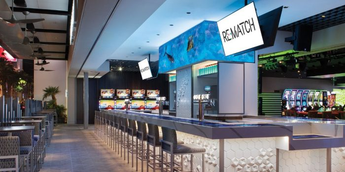 Re:Match Vegas bar at The LINQ Hotel + Experience