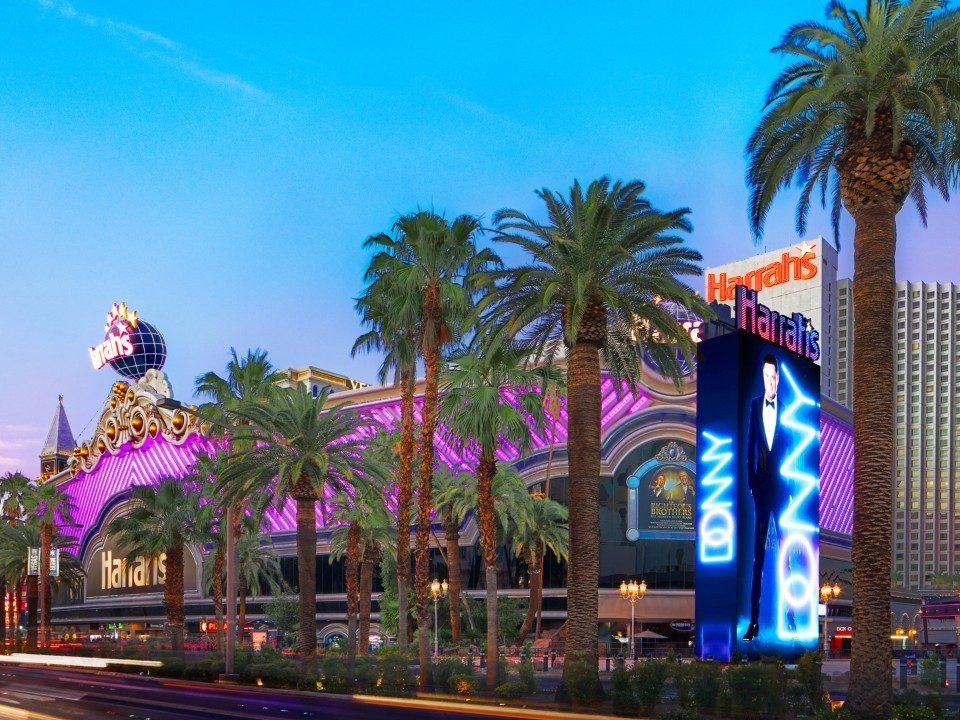 Harrahs Las Vegas Hotel And Casino Las Vegas Strip