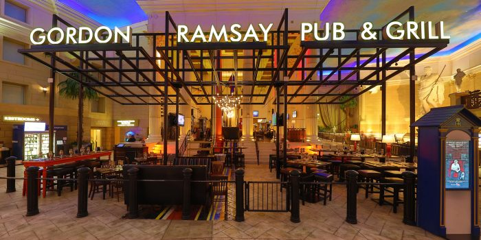Caesars Palace Gordon Ramsay Atlantic City