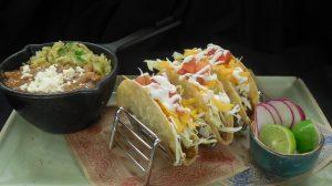 Plated Taco Entree At El Burro Borracho Restaurant Inside Harrah S Laughlin