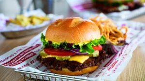 Photo Of Cheeseburger And Fries In Basket At Smashburger Harrah S Laughlin