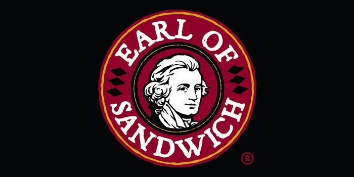 Image Of The Earl Of Sandwich Logo At Harrah's Southern California