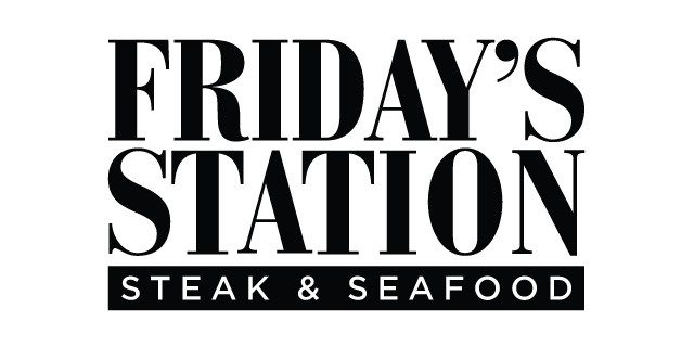 two people dining at Friday's Station Steak & Seafood Grill